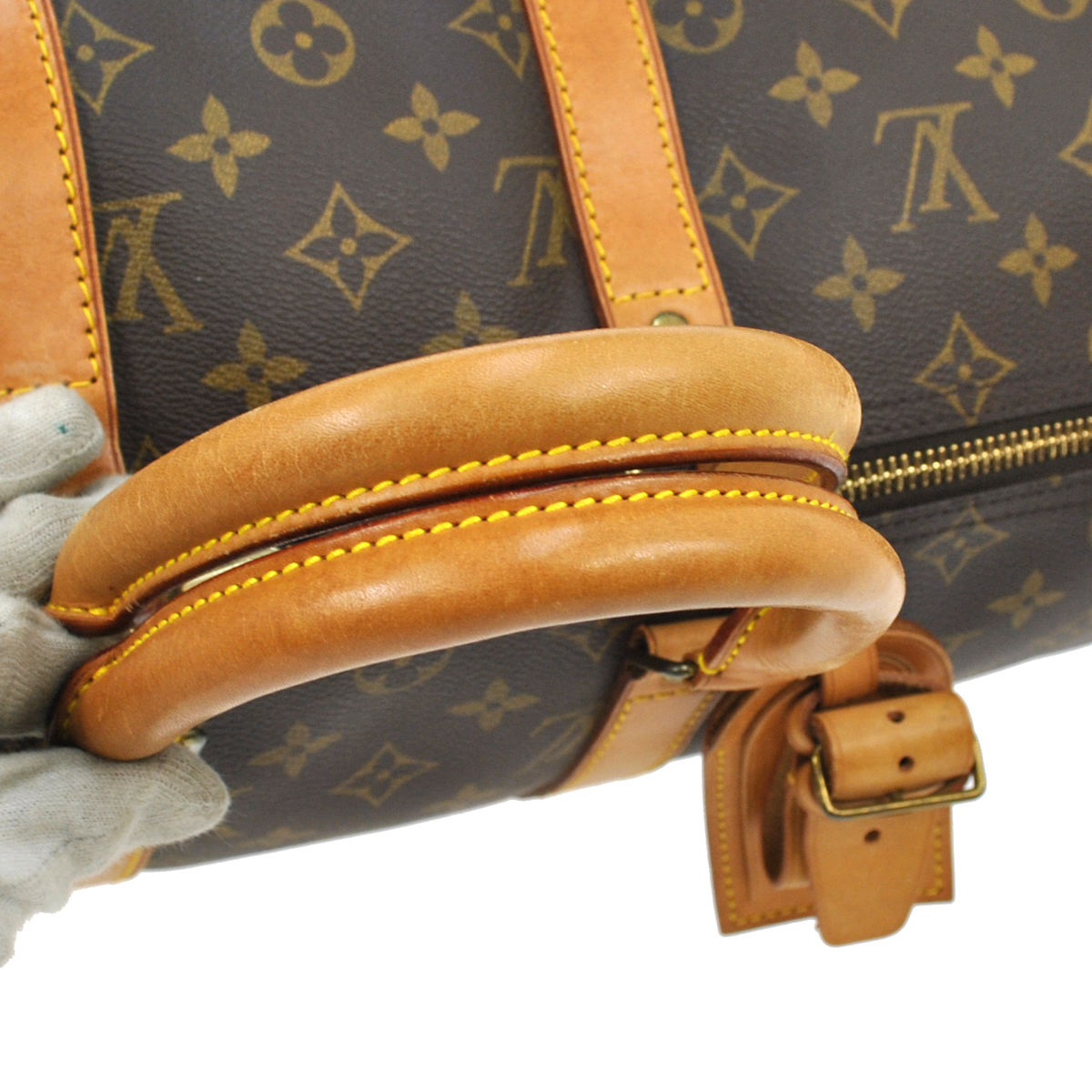0ed3567849dc Louis Vuitton Vintage Monogram Keepall 45 Travel Duffle Bag M41428 ...