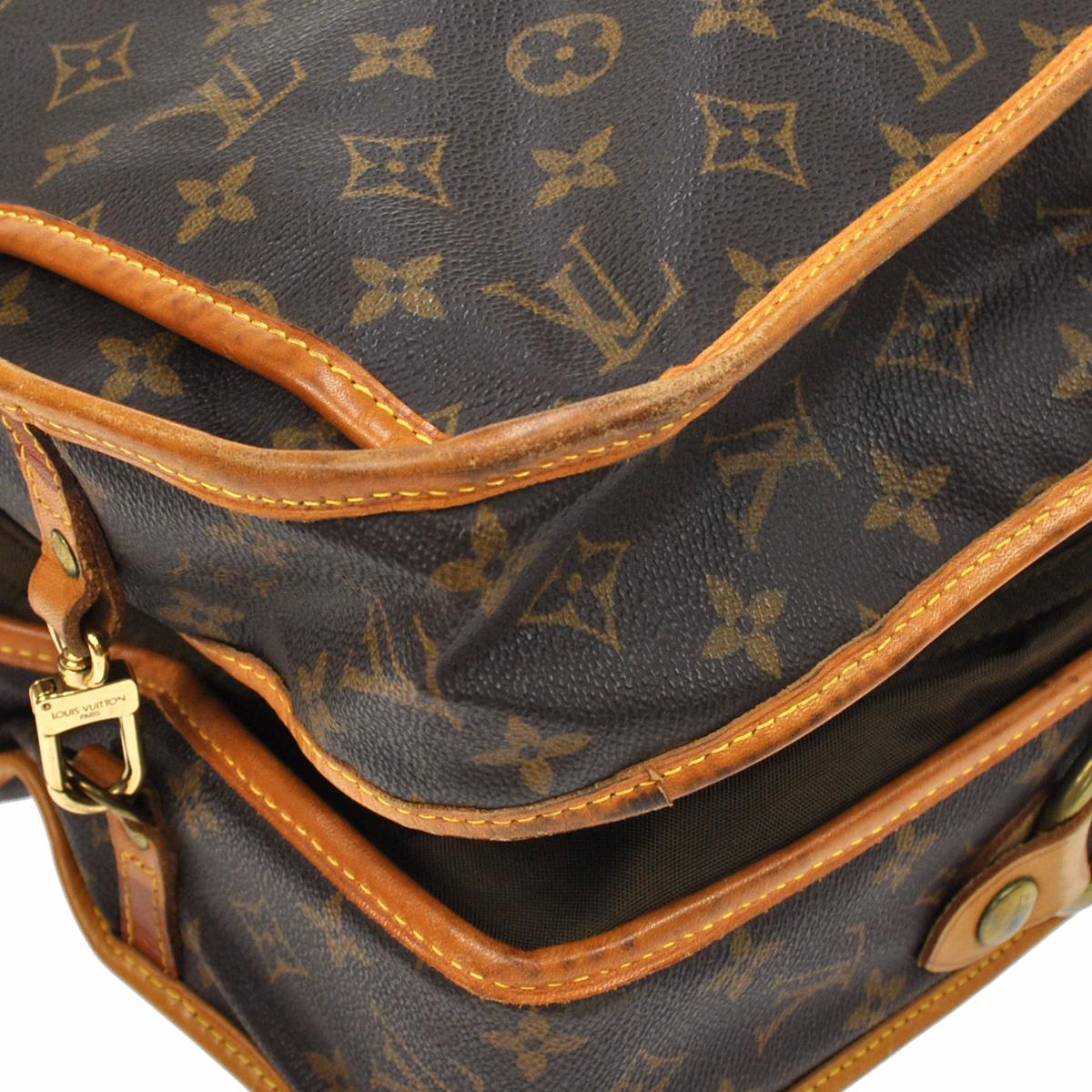 8502e7ea69eb Louis Vuitton Portable Garment Cover Handbag Monogram VTG - BkaysVintage